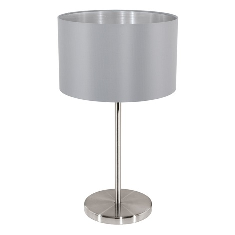 Eglo 31628 - Stolní lampa  MASERLO 1xE27/60W/230V