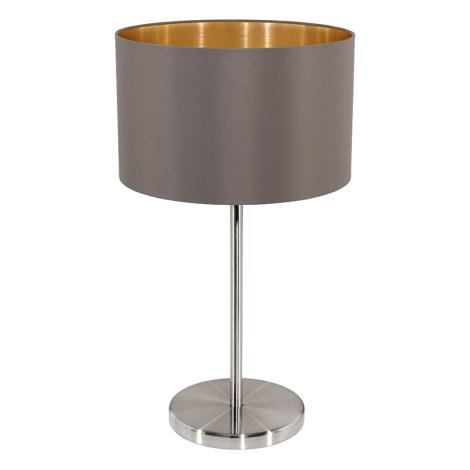 Eglo 31631 - Stolní lampa  MASERLO 1xE27/60W/230V