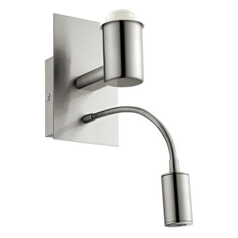 Eglo 32508 - Nástěnné svítidlo TUNJA 1xE27/60W/LED/2,1W/230V