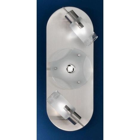 EGLO 36272 - Bodové svítidlo NEWTON 3xG9/40W chrom / bílá