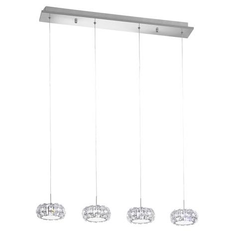 Eglo 39007 - LED závěsné svítidlo CORLIANO 4xLED/5W/230V