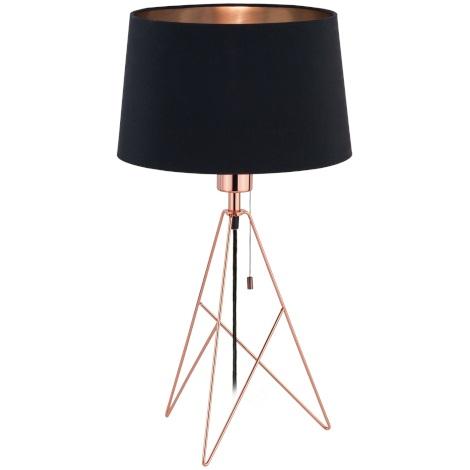 Eglo 39178 - Stolní lampa CAMPORALE 1xE27/60W/230V