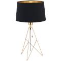 Eglo 39179 - Stolní lampa CAMPORALE 1xE27/60W/230V