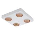 Eglo 39377 - LED Stmívatelné stropní svítidlo RONZANO 4xLED/3,3W/230V