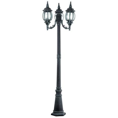 EGLO 4171 - Venkovní lampa OUTDOOR CLASSIC 3xE27/100W černá/zelená