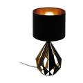 Eglo 43077 - Stolní lampa CARLTON 1xE27/60W/230V