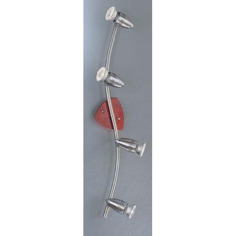 EGLO 45027 - Bodové svítidlo WOODY 4xGU10/50W