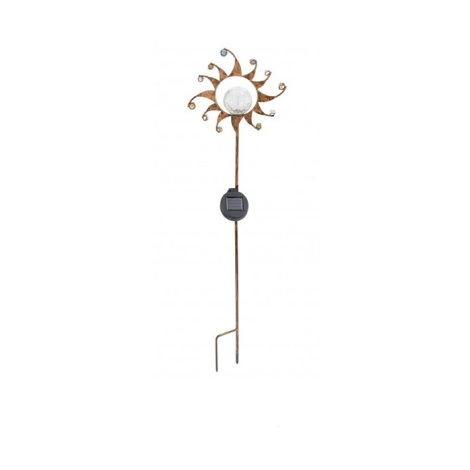 EGLO 47102 - Solární lampa sluníčko 1xLED/0,015W bronz