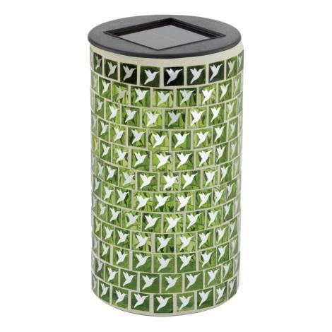 EGLO 47219 - Solární svítidlo VOGEL 1xLED/0,03W zelená
