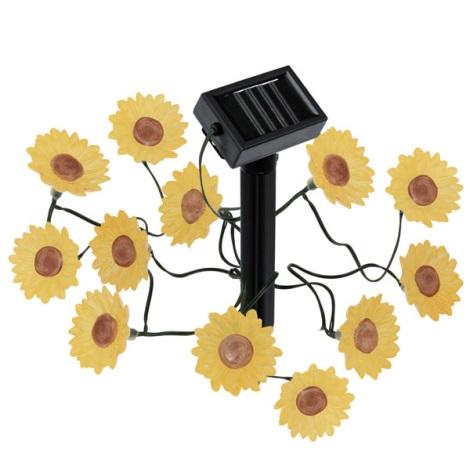 EGLO 47342 - Solární LED osvětlení květiny 12xLED/0,075