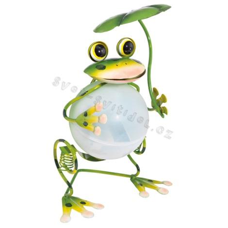 EGLO 47516 - Solární svítidlo žaba 1xLED/0,04W zelená