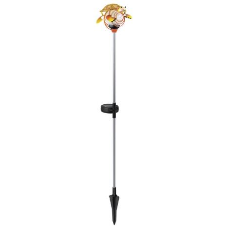 EGLO 47635 - Solární lampa želva 1xLED/0,04W oranžová