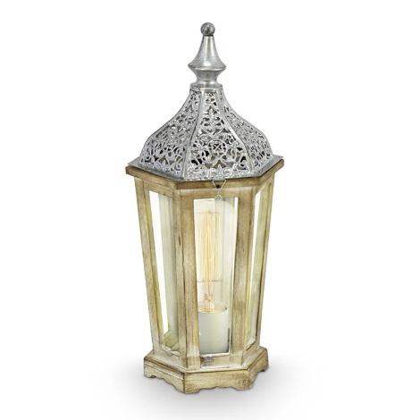 Eglo 49277 - Stolní lampa KINGHORN 1xE27/60W/230V