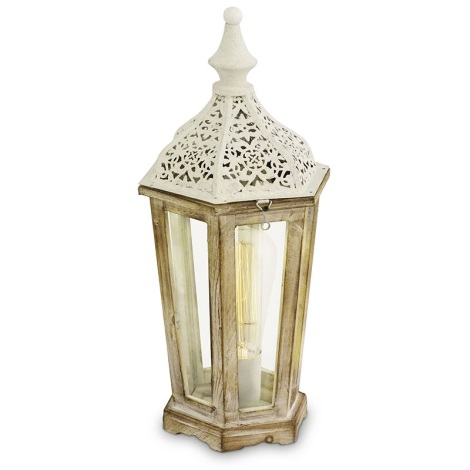 Eglo 49278 - Stolní lampa KINGHORN 1xE27/60W/230V