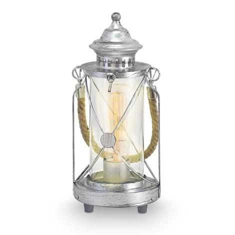 Eglo 49284 - Stolní lampa BRADFORD 1xE27/60W/230V