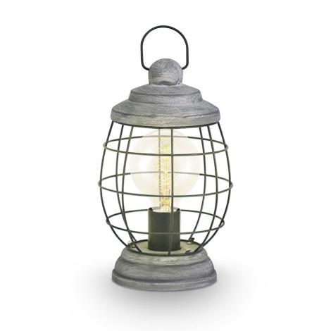 Eglo 49289 - Stolní lampa BAMPTON 1xE27/60W/230V