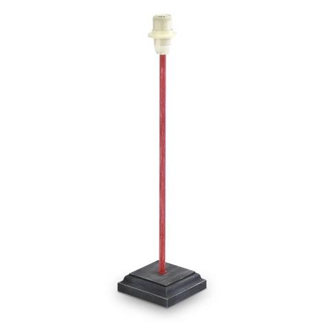 Eglo 49315 - Noha lampová VINTAGE 1xE14/40W/230V červená