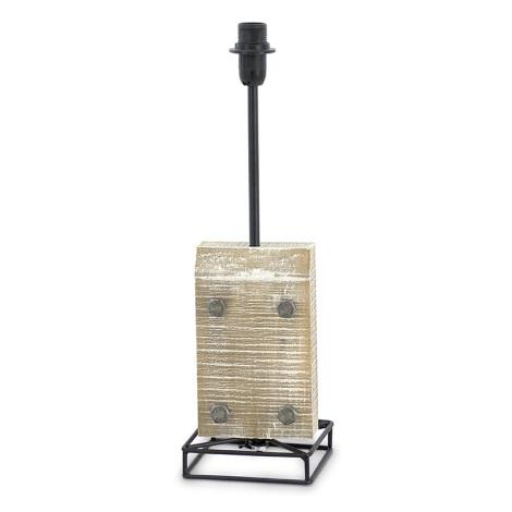 Eglo 49325 - Noha lampová VINTAGE 1xE14/40W/230V černá kov