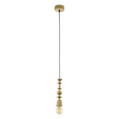 Eglo 49373 - Závěsné svítidlo AVOLTRI 1xE27/60W/230V