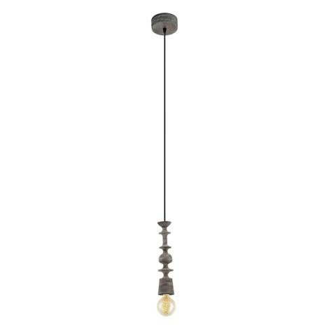Eglo 49375 - Závěsné svítidlo AVOLTRI 1xE27/60W/230V