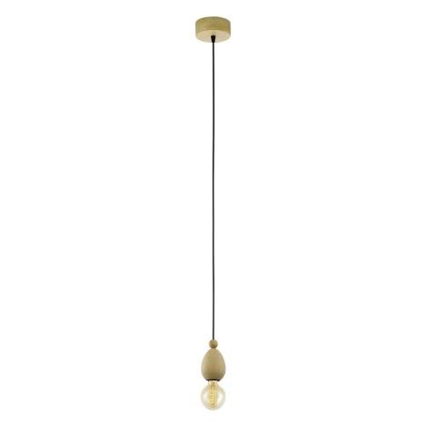 Eglo 49376 - Závěsné svítidlo AVOLTRI 1xE27/60W/230V