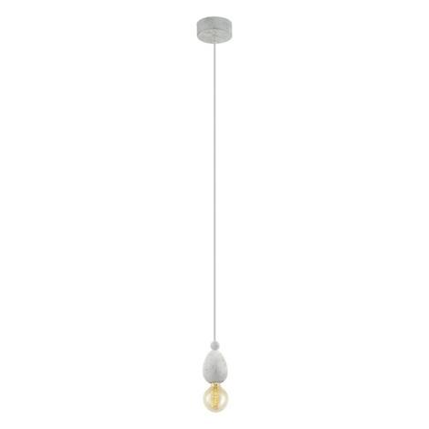 Eglo 49377 - Závěsné svítidlo AVOLTRI 1xE27/60W/230V