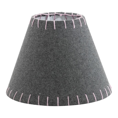 Eglo 49434 - Stínidlo VINTAGE růžová vyšívané E14 pr. 20,5 cm