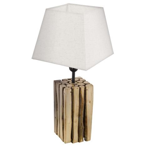 Eglo 49669 - Stolní lampa RIBADEO 1xE27/60W/230V