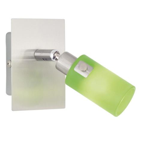 EGLO 51221 - Bodové svítidlo KENO 1 1xG9/40W zelená