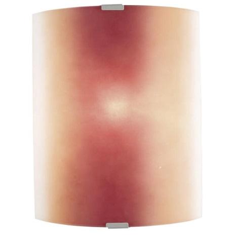EGLO 51294 - Nástěnné svítidlo BONDO 1xE27/100W červená