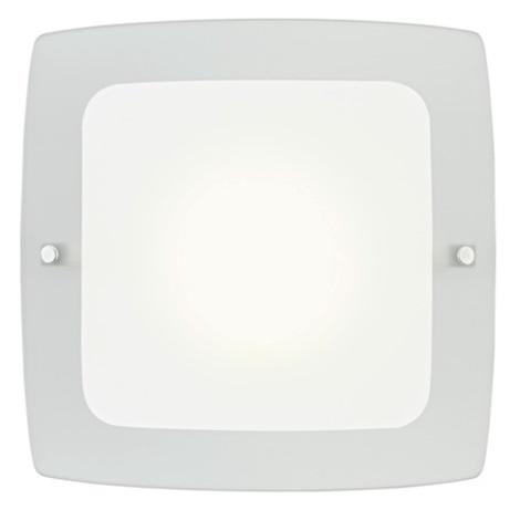 EGLO 51299 - Nástěnné stropní svítidlo BONDO 1 1xE27/60W bílá/šedá