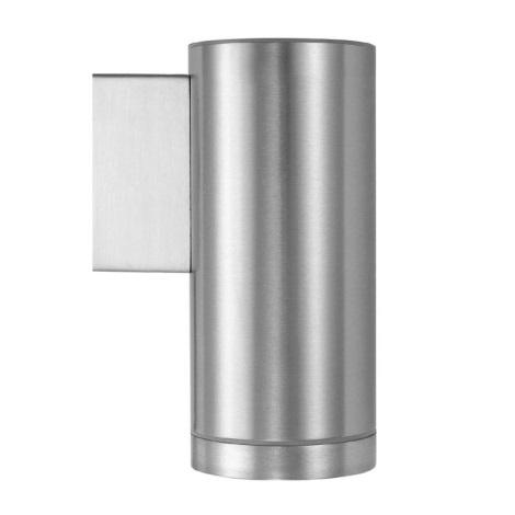 EGLO 51684 - Koupelnové svítidlo RIGA 1xGU10/50W nerez