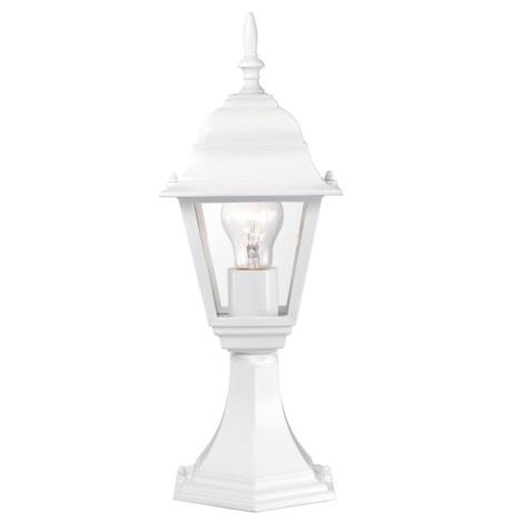 EGLO 51819 - Venkovní lampa BELFORT 1xE27/60W bílá