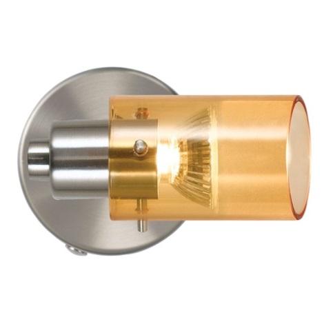 EGLO 51937 - Bodové svítidlo STOMP 1xGU10/50W oranžová