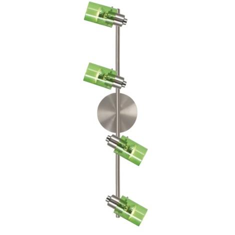 EGLO 51943 - Bodové svítidlo STOMP 4xGU10/50W zelená