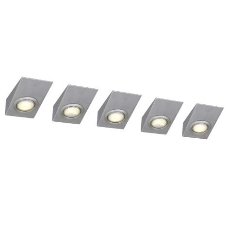 Eglo 52578 - SADA 5x Bodové svítidlo TRIANA 1xG4/20W/230V
