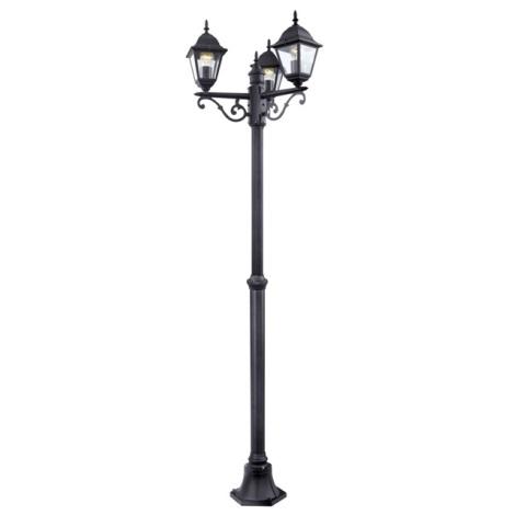 EGLO 52769 - Venkovní lampa 3xE27/60W černá