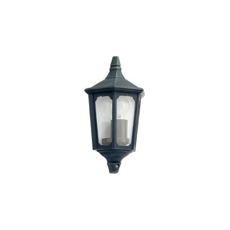 EGLO 5376 - Venkovní nástěnné svítidlo LATERNA 7 zelená patina