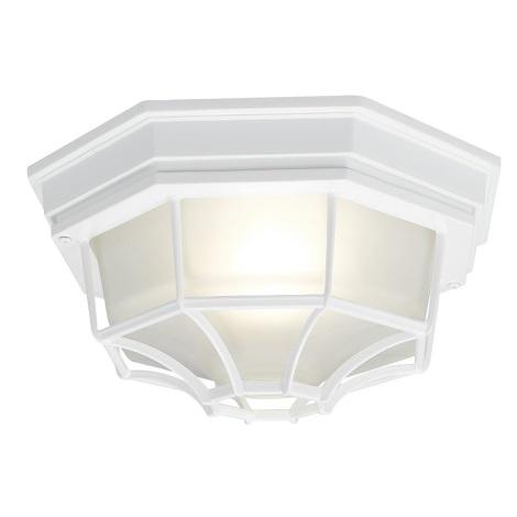 EGLO 5382 - Venkovní stropní svítidlo LATERNA 7 1xE27/100W bílá