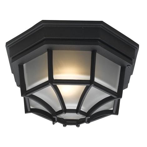 EGLO 5389 - Venkovní stropní svítidlo LATERNA 7 1xE27/100W černá