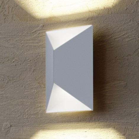 Eglo 54603 - LED Venkovní nástěnné svítidlo PREDAZZO 2xLED/2,5W/230V IP44