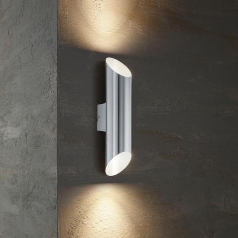 Eglo 54604 - LED Venkovní nástěnné svítidlo AGOLADA 2xLED/3,7W/230V IP44
