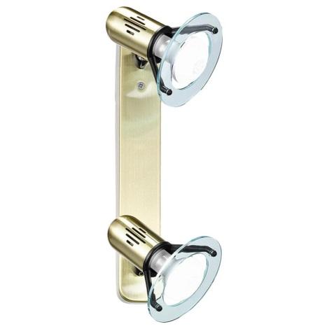 EGLO 6907 - Bodové svítidlo BINGO 2xE14/40W zlatá