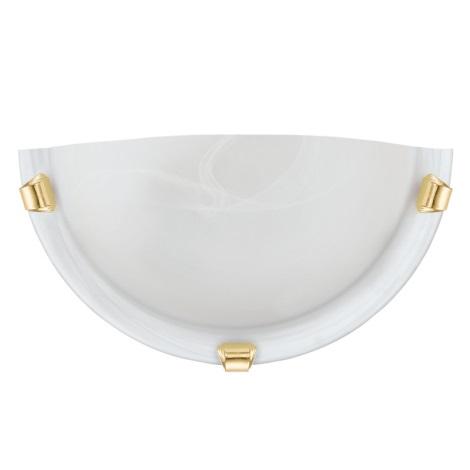 Eglo 7187 - Nástěnné svítidlo SALOME 1xE27/60W/230V alabastrové sklo