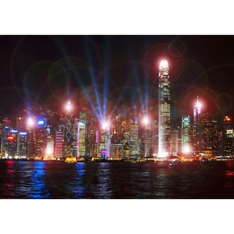 Eglo 75035 -  Obraz s LED podvícením SKYLINE 9xLED/0.02W