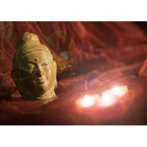 Eglo 75039 - Obraz s LED podsvícením BUDDHA 3xLED/0,02W