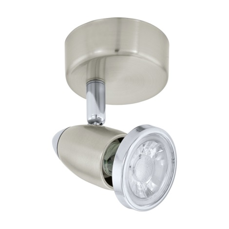 Eglo 75114 - LED bodové svítidlo MOVE 2 1xGU10/3,3W/230V
