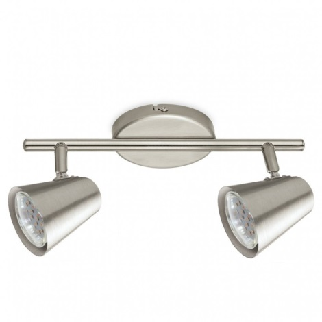 Eglo 75142 - LED Bodové svítidlo TRAVALE 2 2xGU10/3,3W/230V