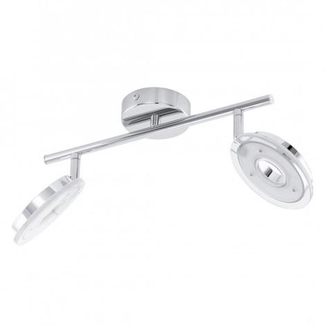 Eglo 75185 - LED bodové svítidlo DORNES 2xLED/4,5W/230V