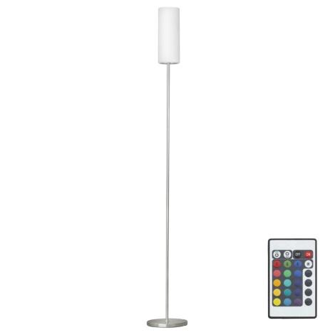 Eglo 75254 - LED RGB Stmívatelná stojací lampa ELLUNO-C 1xE27/7,5W/230V